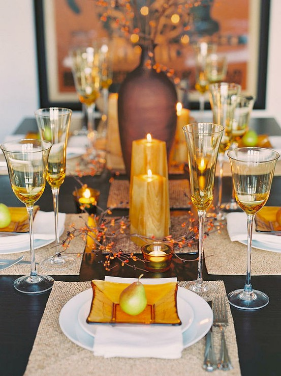 Love ... & Thanksgiving Table Setting Ideas - Riding Coastal